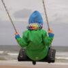 child swinging for emotional self-regulation
