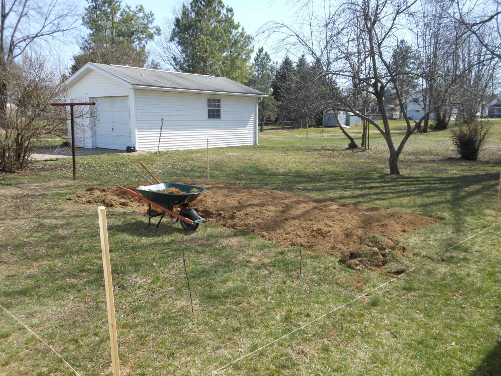 preparing sod for fruitful garden